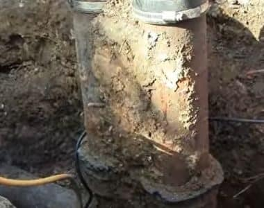 replace-sewer-line-in